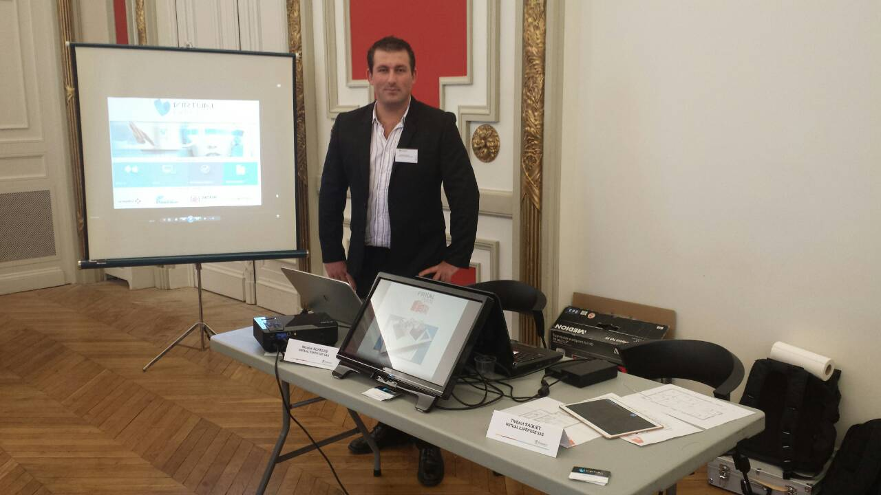 Virtual Plan 3D à la CCI Toulouse 2015